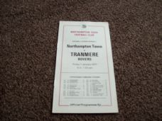 Northampton Town v Tranmere Rovers, 1976/77